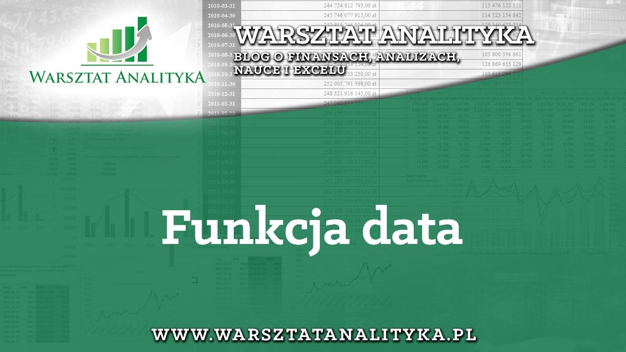 1. Funkcja data