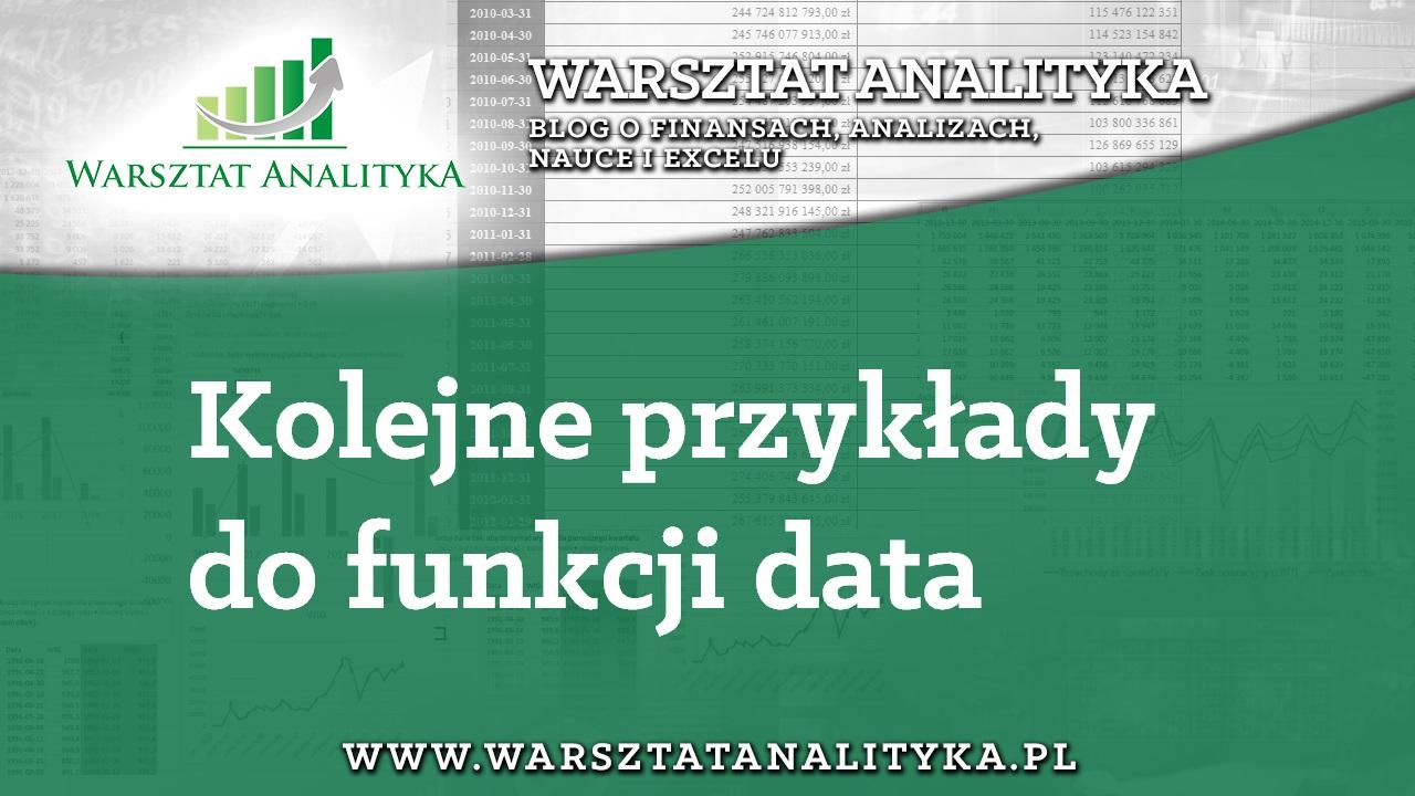 4. Kolejne przykłady do funkcji data