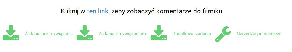 komentarze + zadania